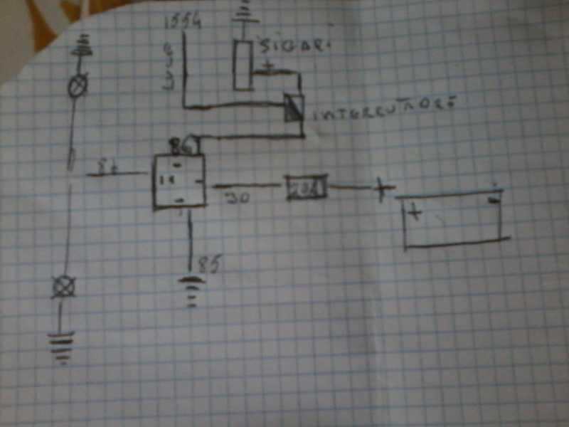 Schema Elettrico Xt 600 : Club tenere italia discussione vecchio schema elettrico e